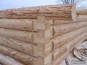 Деревянный сруб для бани